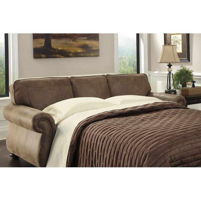 Larkinhurst Earth Queen Sofa Sleeper By Signature Design Ashley 1 Reviews Furniturepick