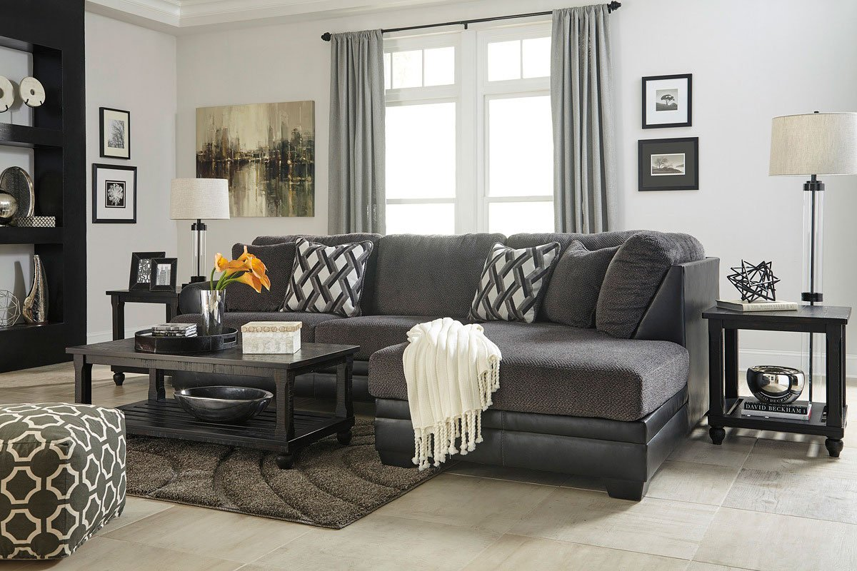 Kumasi Smoke Sectional Set By Signature Design By Ashley