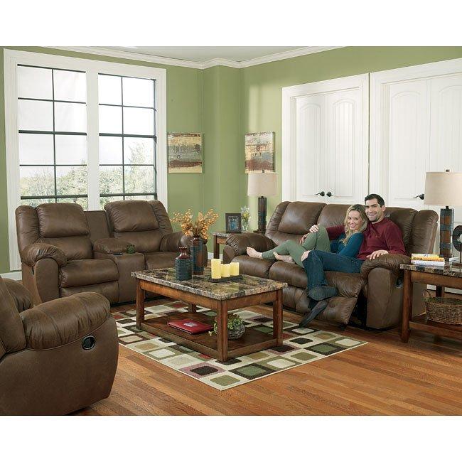 Quarterback Canyon Power Reclining Living Room Set By