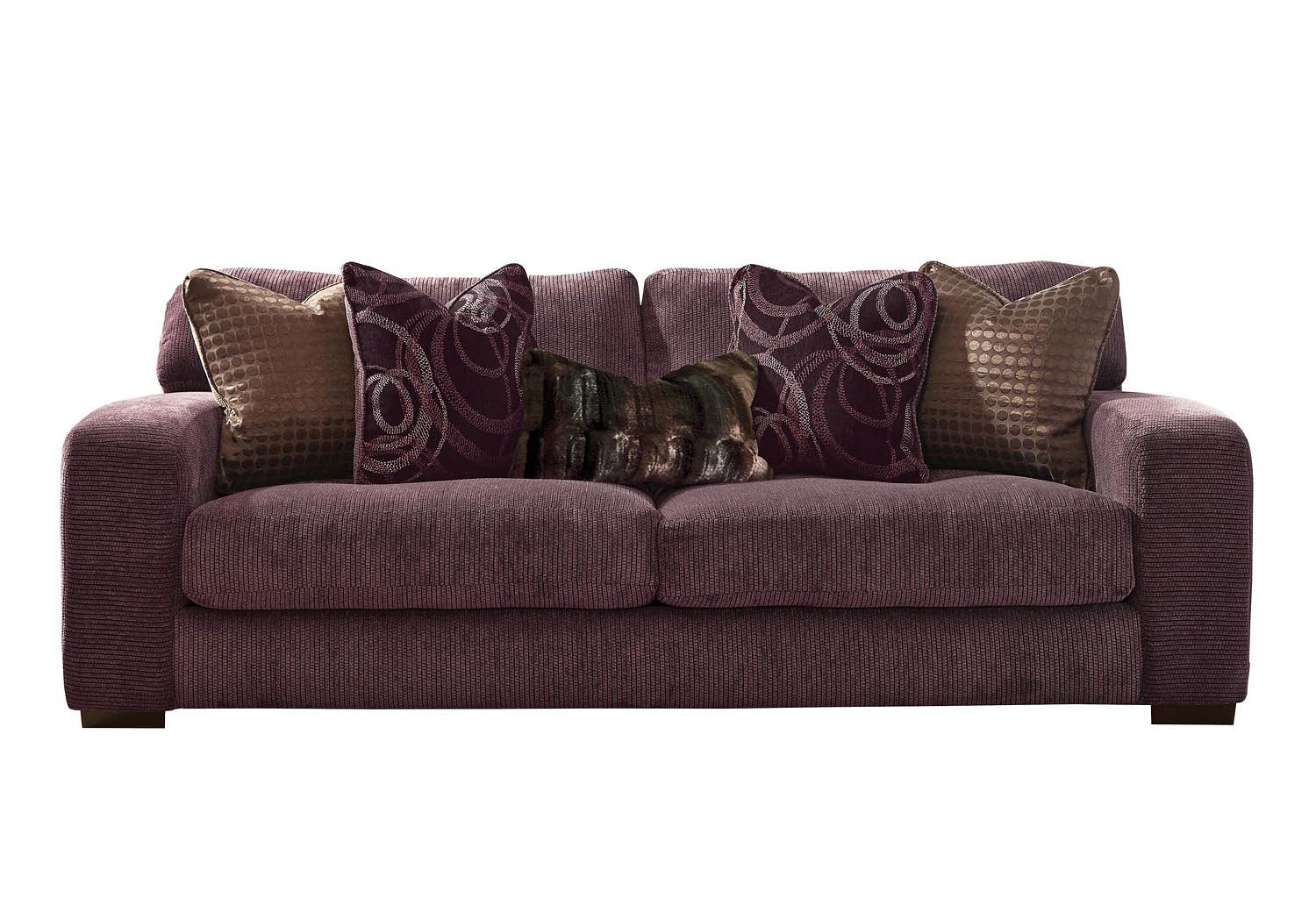 Charmant Serena Sofa (Plum) By Jackson Furniture