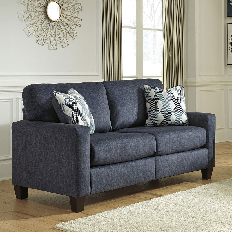 Ashley Furniture Online Catalog: Burgos Navy Living Room Set By Signature Design By Ashley
