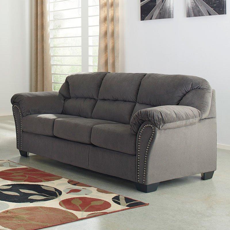 Kinlock charcoal sofa sofas living room furniture living room for Charcoal living room furniture