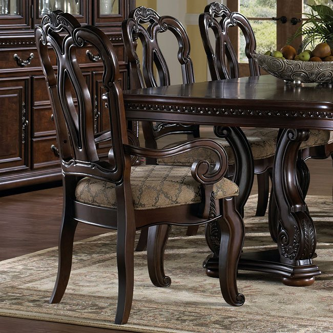 San marino dining room set by samuel lawrence furniture 1 - San marino bedroom set by samuel lawrence ...