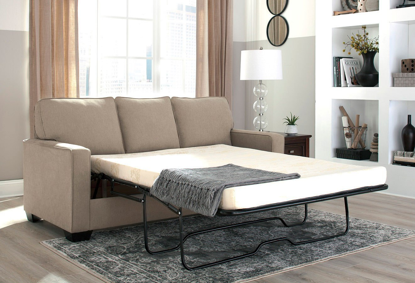 Zeb Quartz Full Sofa Sleeper By Signature Design By Ashley