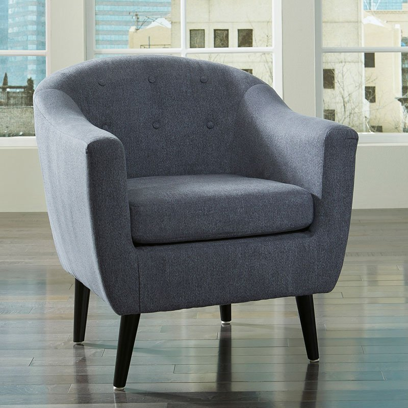 Klorey Denim Accent Chair Accent Chairs Living Room