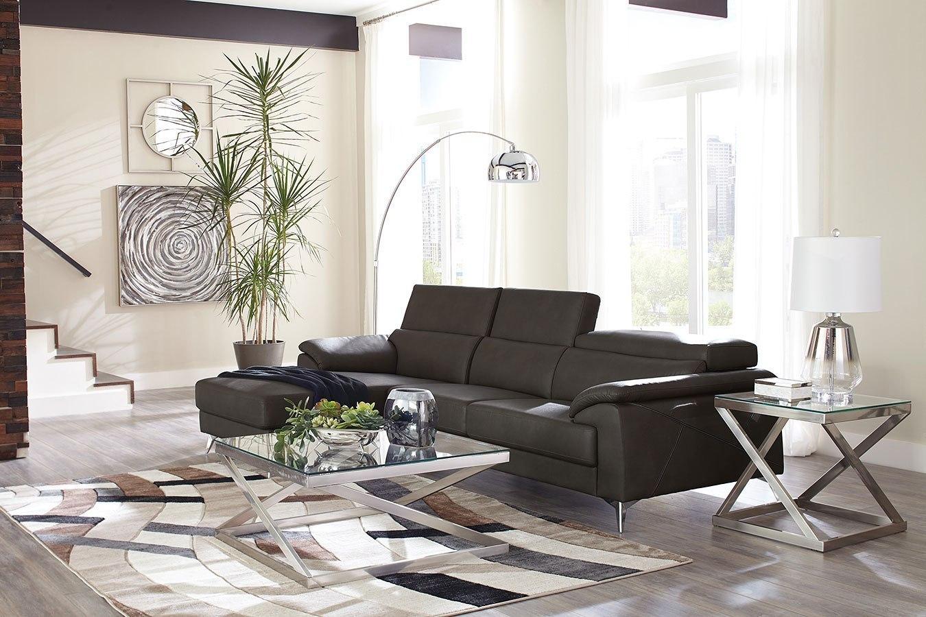 tindell gray modular sectional set living room furniture living. Black Bedroom Furniture Sets. Home Design Ideas