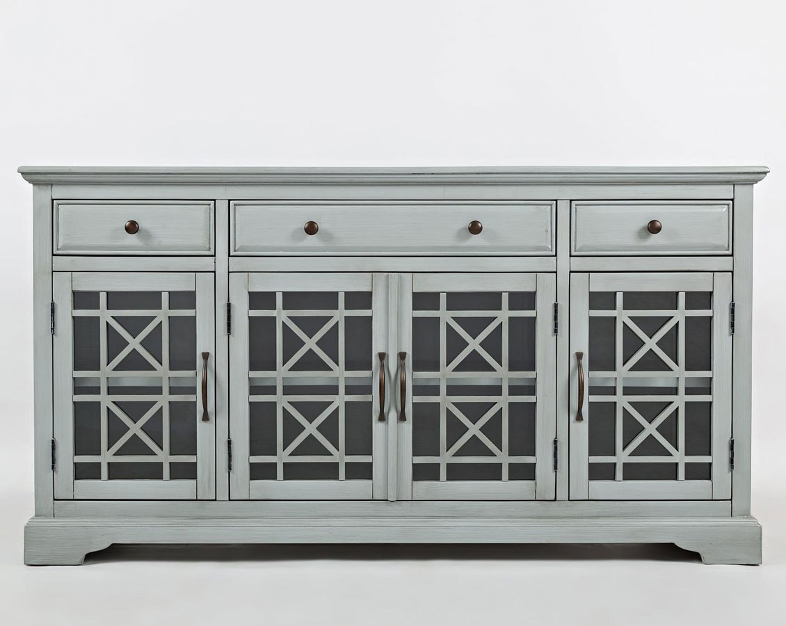 craftsman 60 inch media unit earl grey by jofran furniture rh furniturepick com