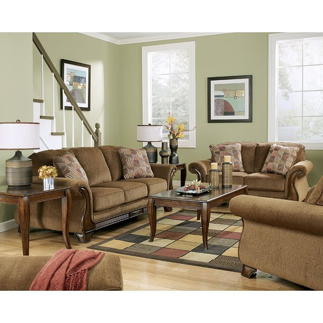 Montgomery Mocha Living Room Set Signature Design By