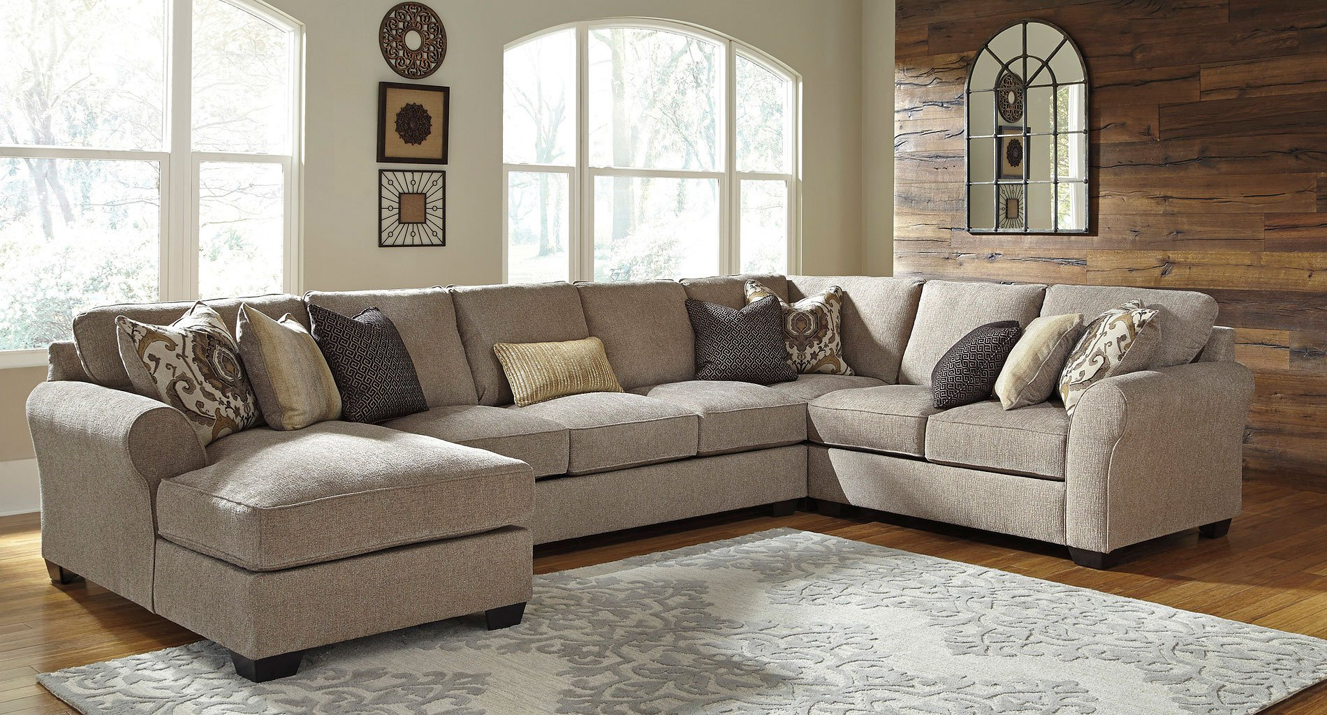 Pantomine Driftwood Modular Sectional By Benchcraft 3