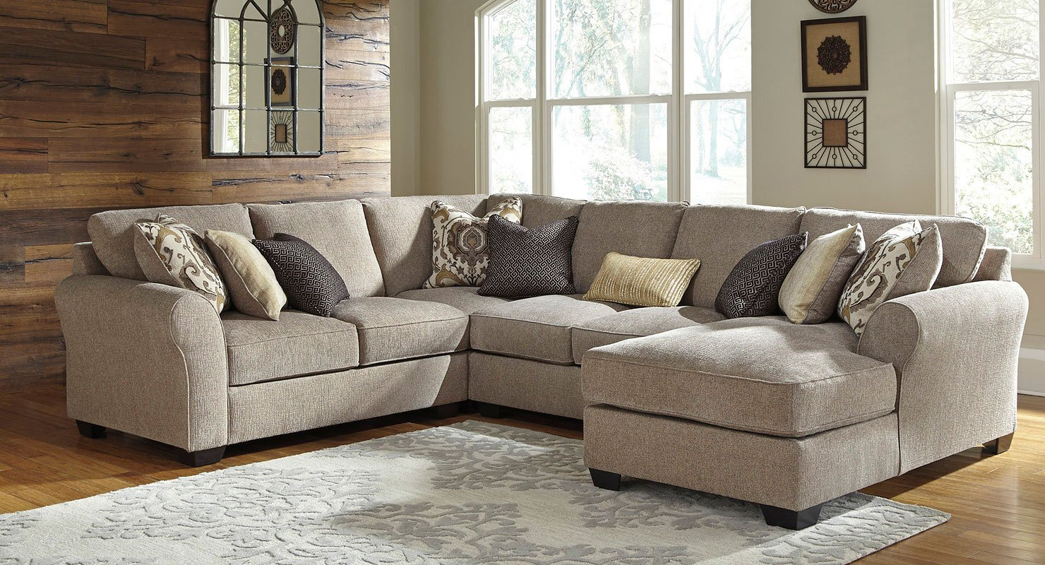Pantomine driftwood modular sectional sectionals - Pictures of living rooms with sectionals ...