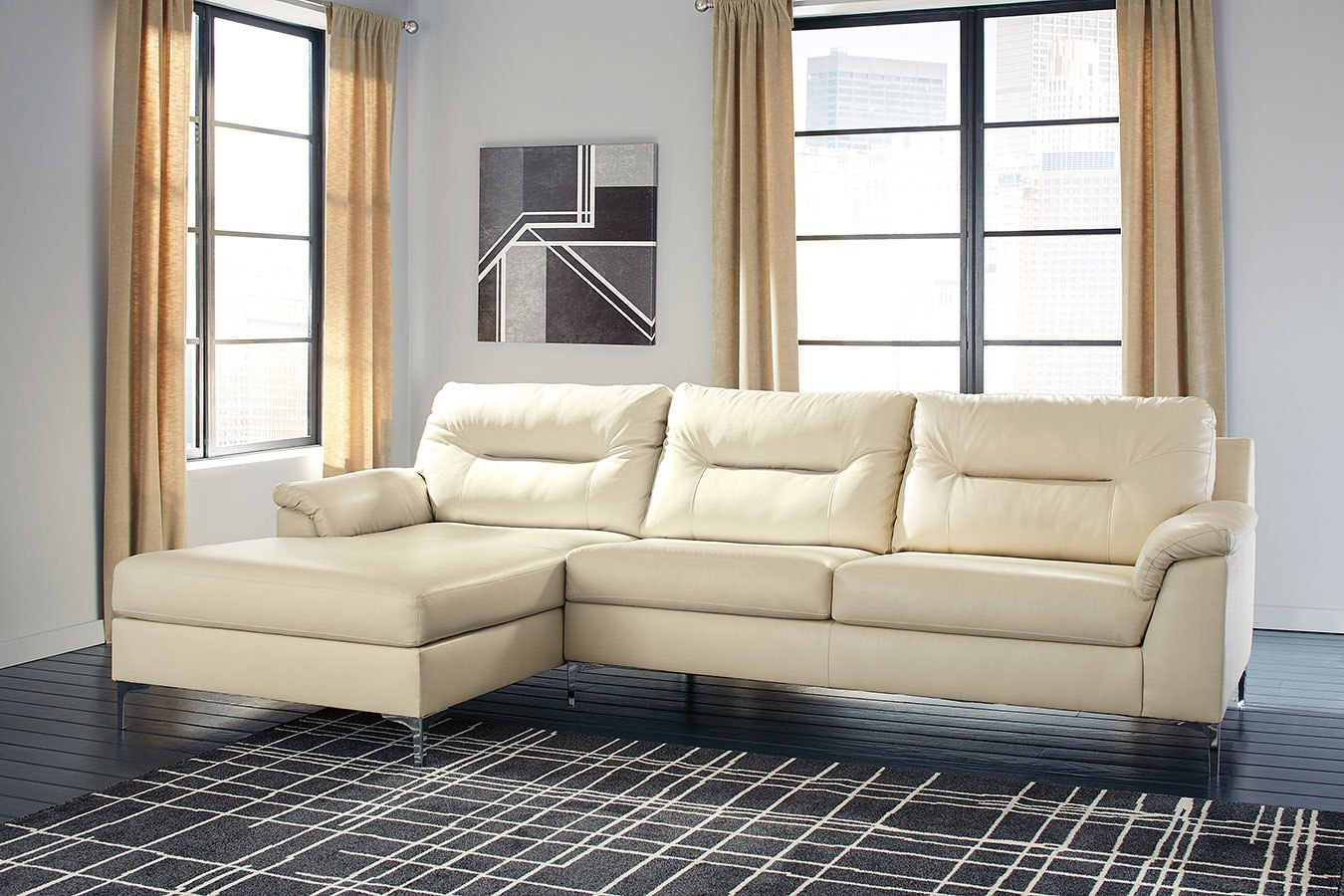 Tensas Ice Sectional Set By Signature Design By Ashley Furniturepick
