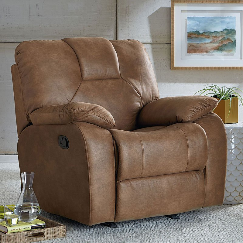 Crosby Rocker Recliner Camel By Standard Furniture