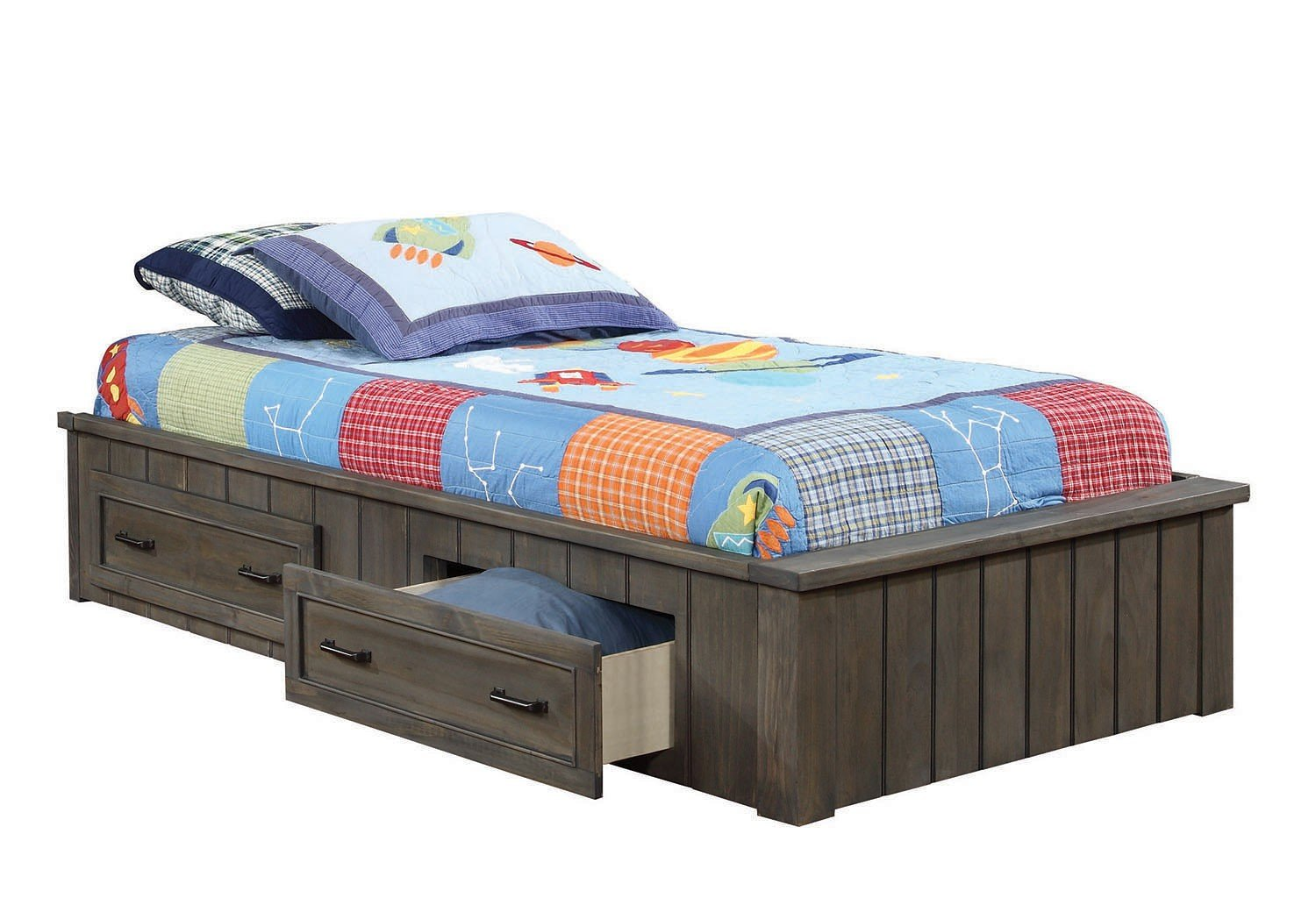 Napoleon youth captains bed kids beds kids and youth for Furniture n more beds