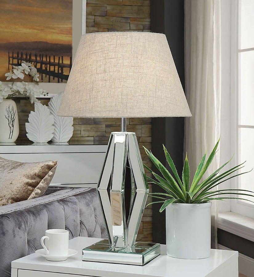 Britt Diamond Shape Table Lamp By Acme Furniture
