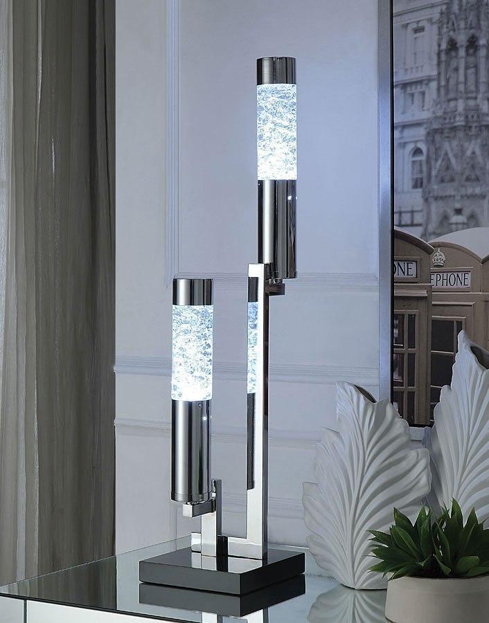 Cici Square Base Table Lamp By Acme Furniture Furniturepick