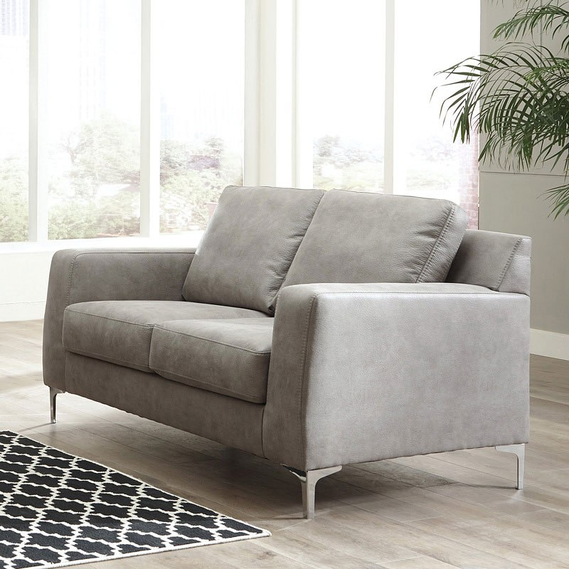 Ryler Steel Living Room Set By Signature Design By Ashley