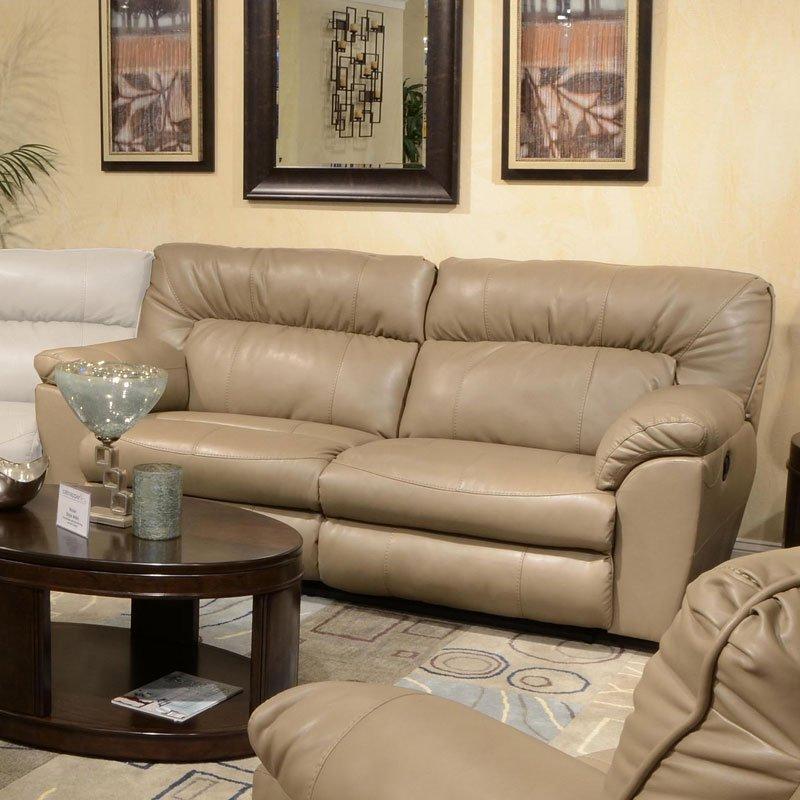 Nolan Extra Wide Reclining Sofa Putty