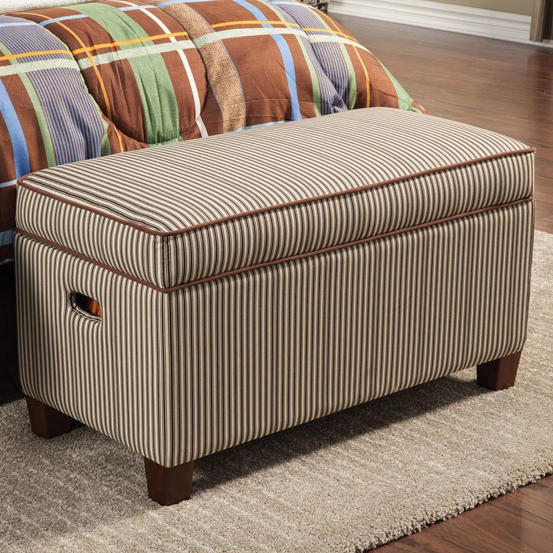 Bon Storage Bench (Striped)