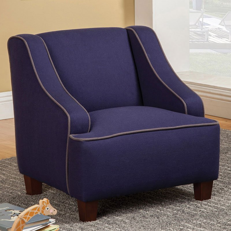 Dark Blue Kids Chair Kids Chairs Kids And Youth