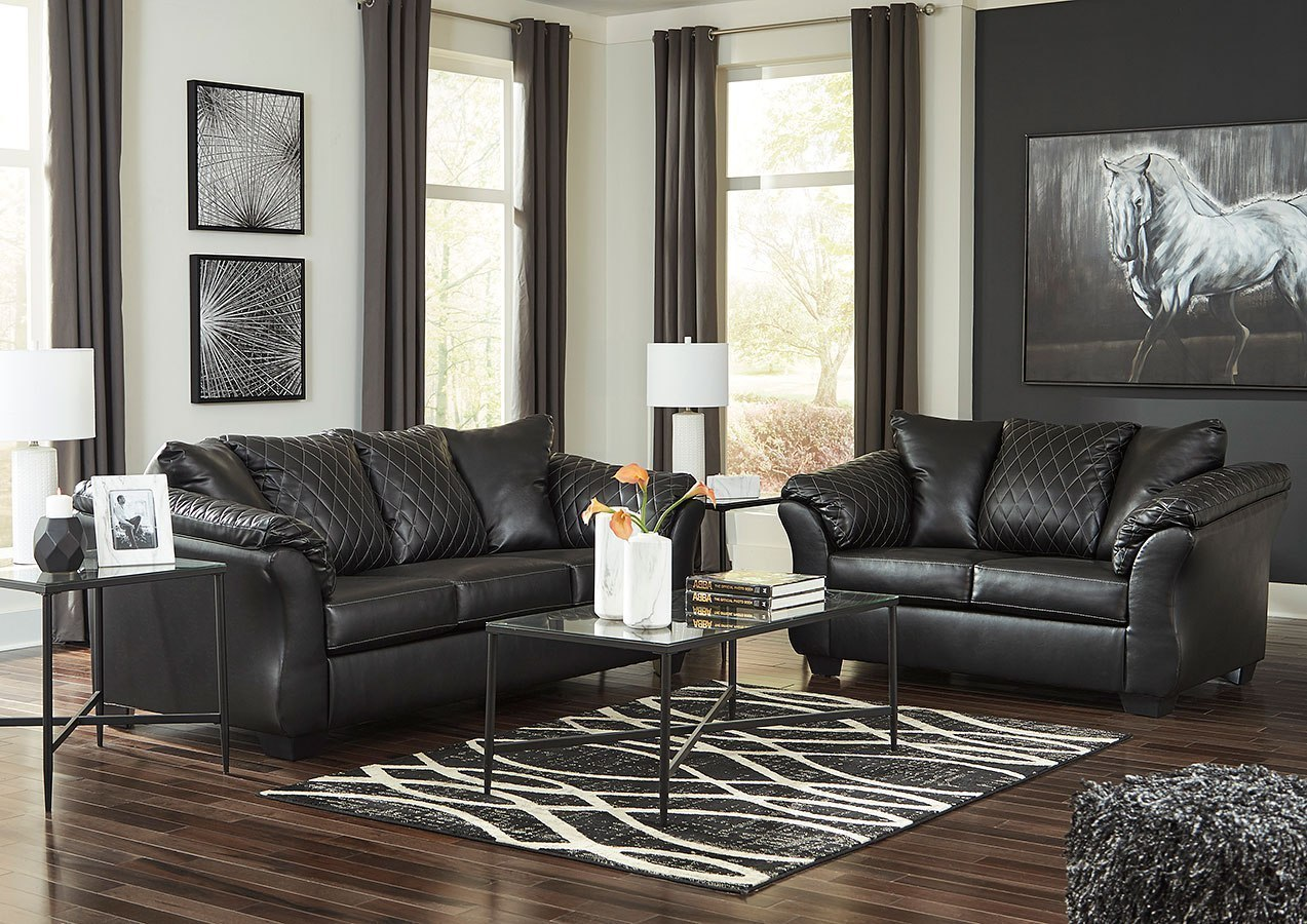 Betrillo Black Living Room Set by Signature Design by Ashley ...