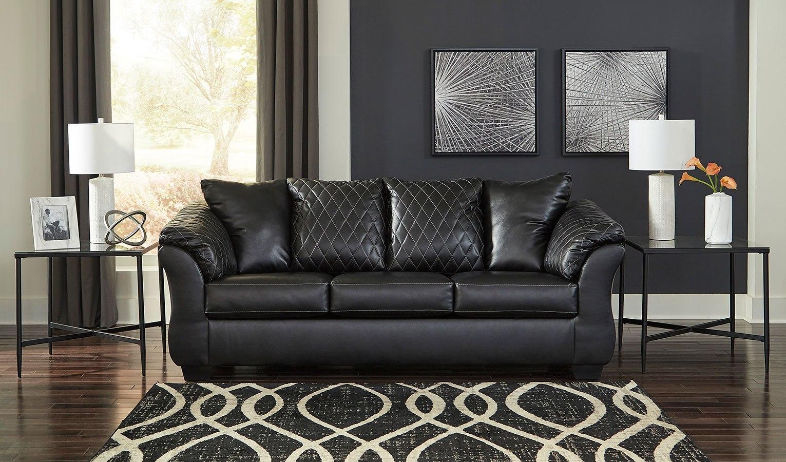 Betrillo Black Sofa By Signature Design By Ashley