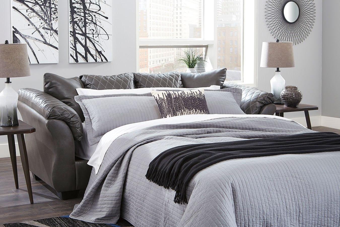 Betrillo Gray Full Sofa Sleeper by Signature Design by ...