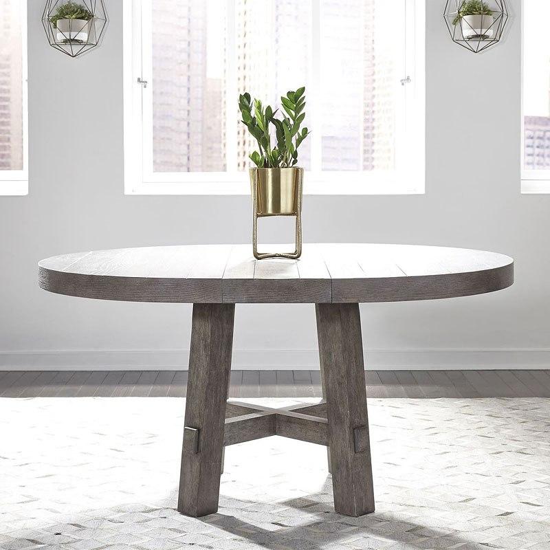 Farmhouse Round Dining Room Table