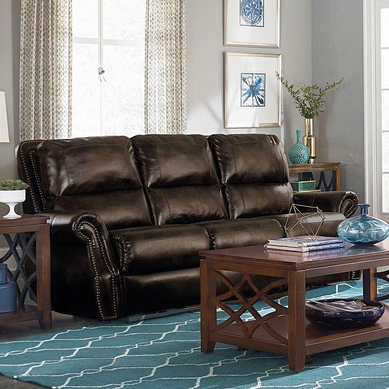 Kingston Reclining Sofa (Burgundy)