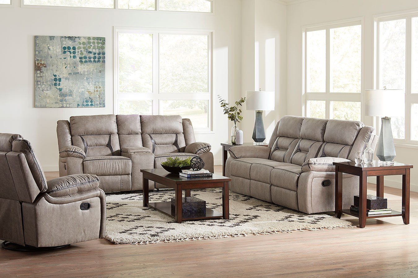 Acropolis Reclining Living Room Set By Standard Furniture