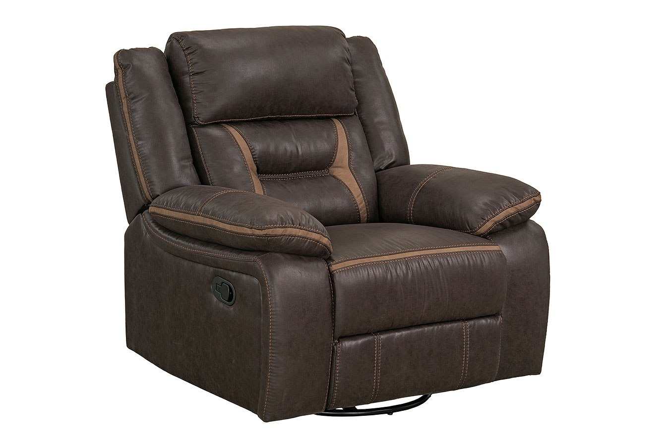 Acropolis Reclining Living Room Set Chocolate By