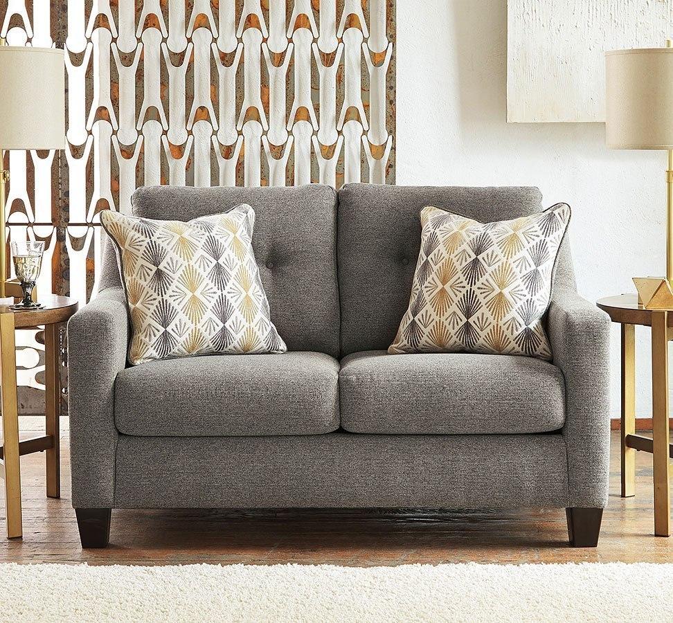 Daylon Graphite Loveseat By Benchcraft Furniturepick