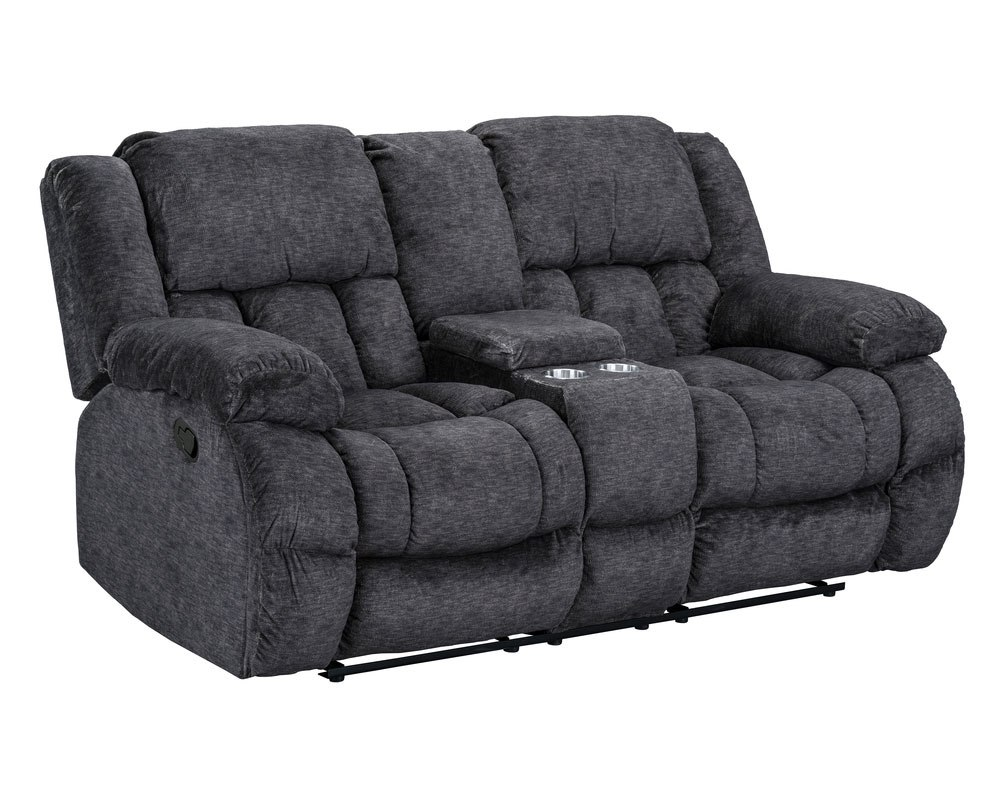 Seymore Reclining Living Room Set Charcoal