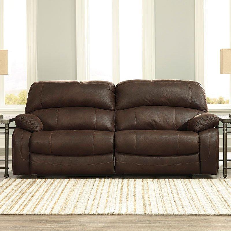 Zavier Truffle Power Reclining Sofa By Signature Design By Ashley