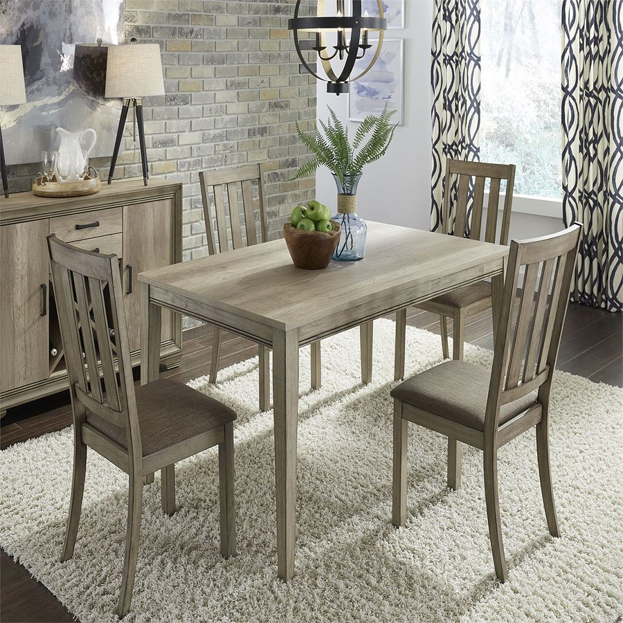 Rectangular Dinette Sets: Sun Valley 60 Inch Rectangular Dining Room Set By Liberty