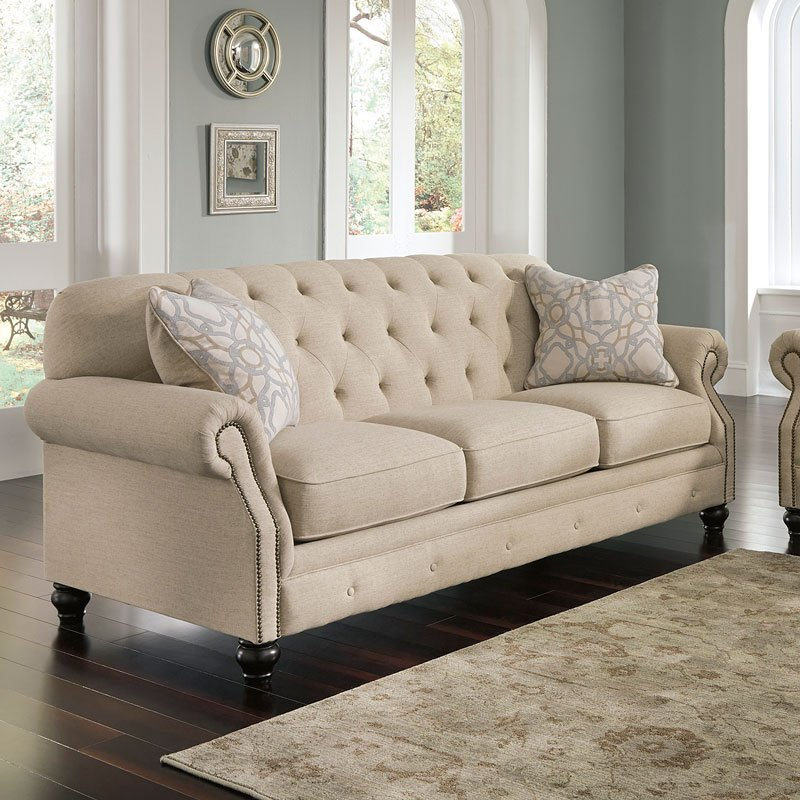 Kieran Natural Sofa by Signature Design by Ashley, 2 ...