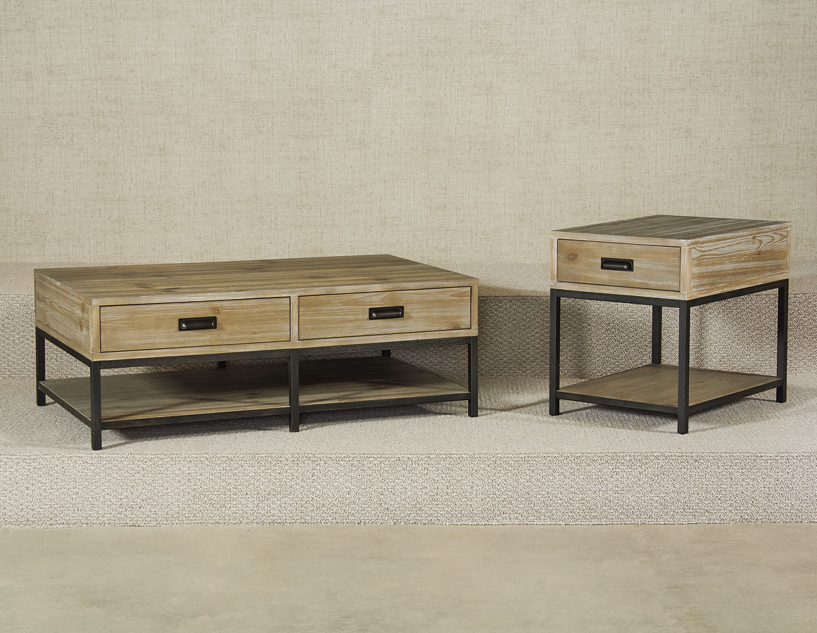 Parsons Rectangular Occasional Table Set By Hammary