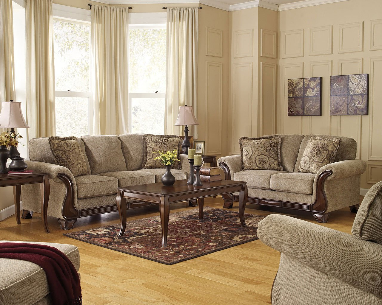 Lanett Barley Living Room Set