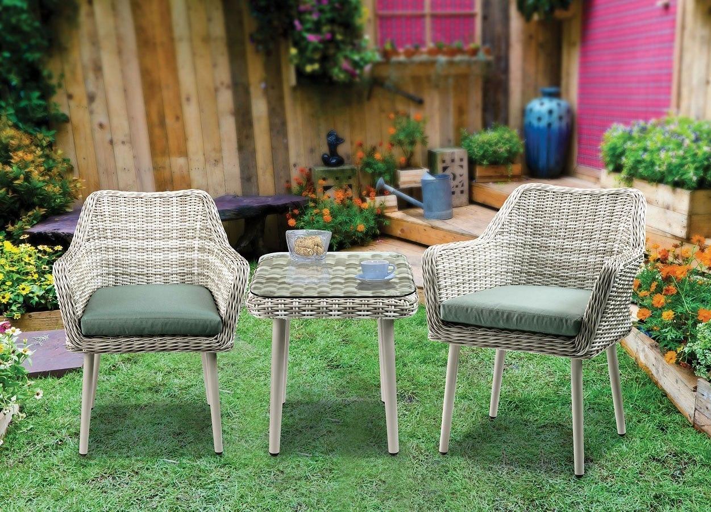 Tashay 3-Piece Patio Bistro Set By Acme Furniture