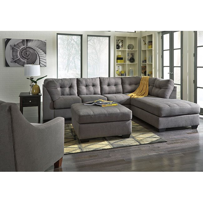 Maier Charcoal Sectional Set By Signature Design By Ashley