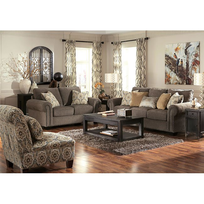 Nice Living Room Furniture: Emelen Alloy Living Room Set By Signature Design By Ashley