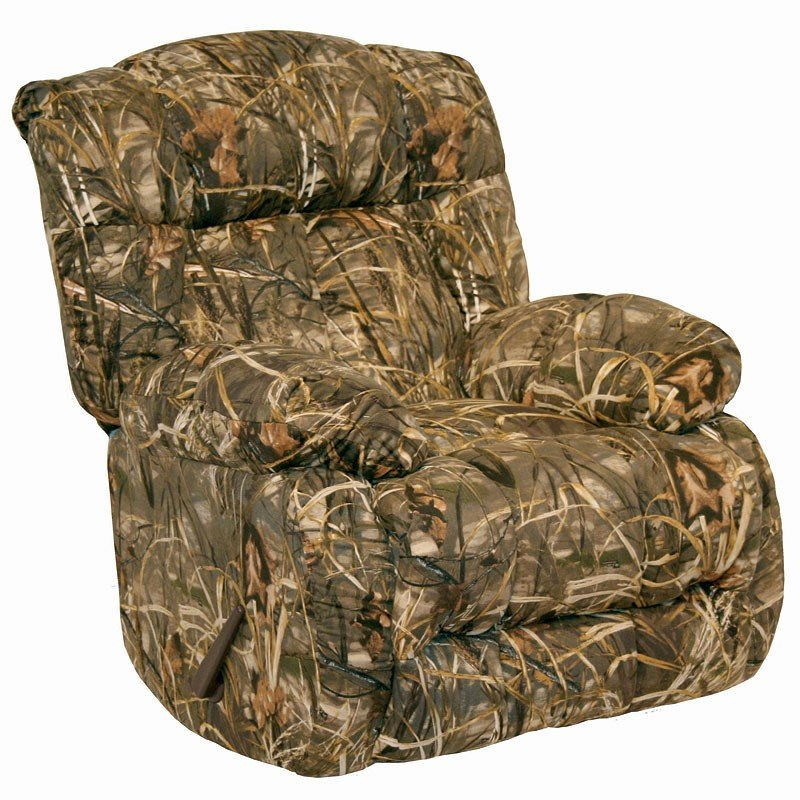 Camo Lounge Chair: Laredo Chaise Rocker Recliner (Realtree Camo) By Catnapper