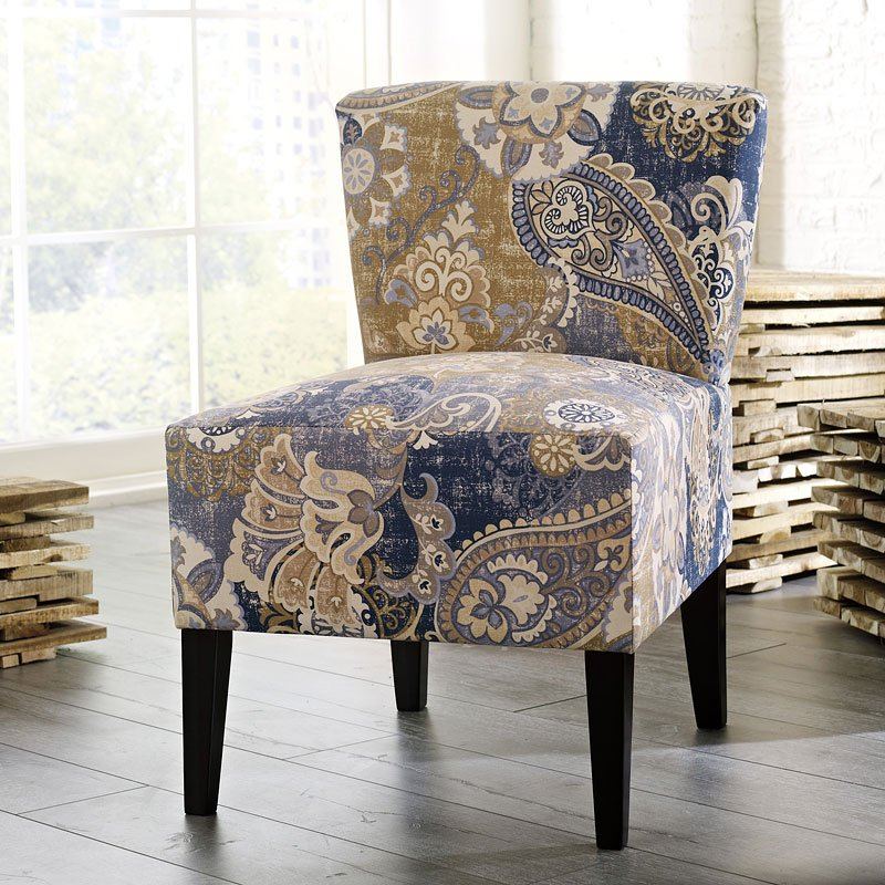 Ravity Accent Chair Denim By Signature Design By Ashley