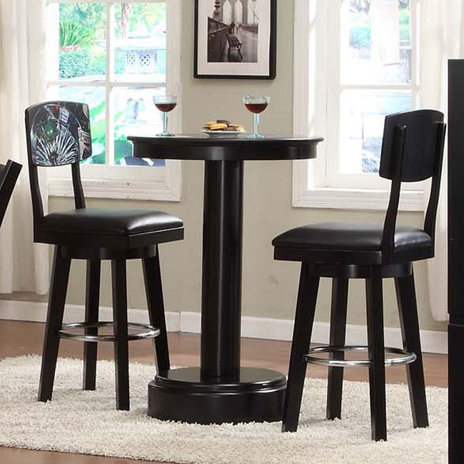 Bon Godard 42 Inch Pub Table Set