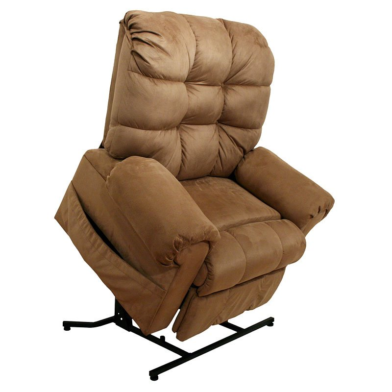 Omni power lift full lay out chaise recliner saddle for Laying out living room furniture