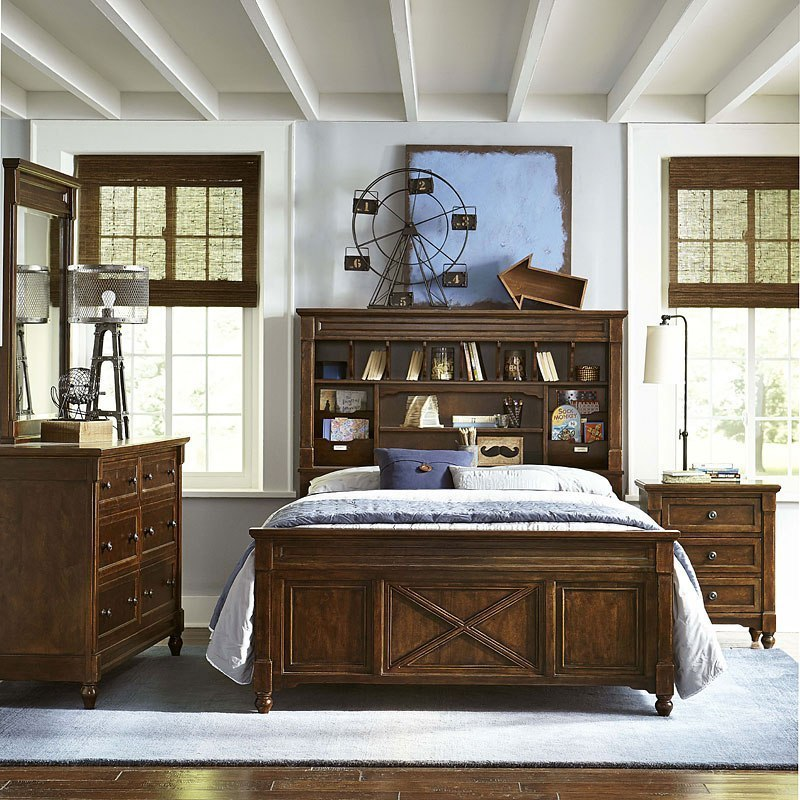 Big Sur Vista Point Bookcase Bedroom Set By Legacy Classic