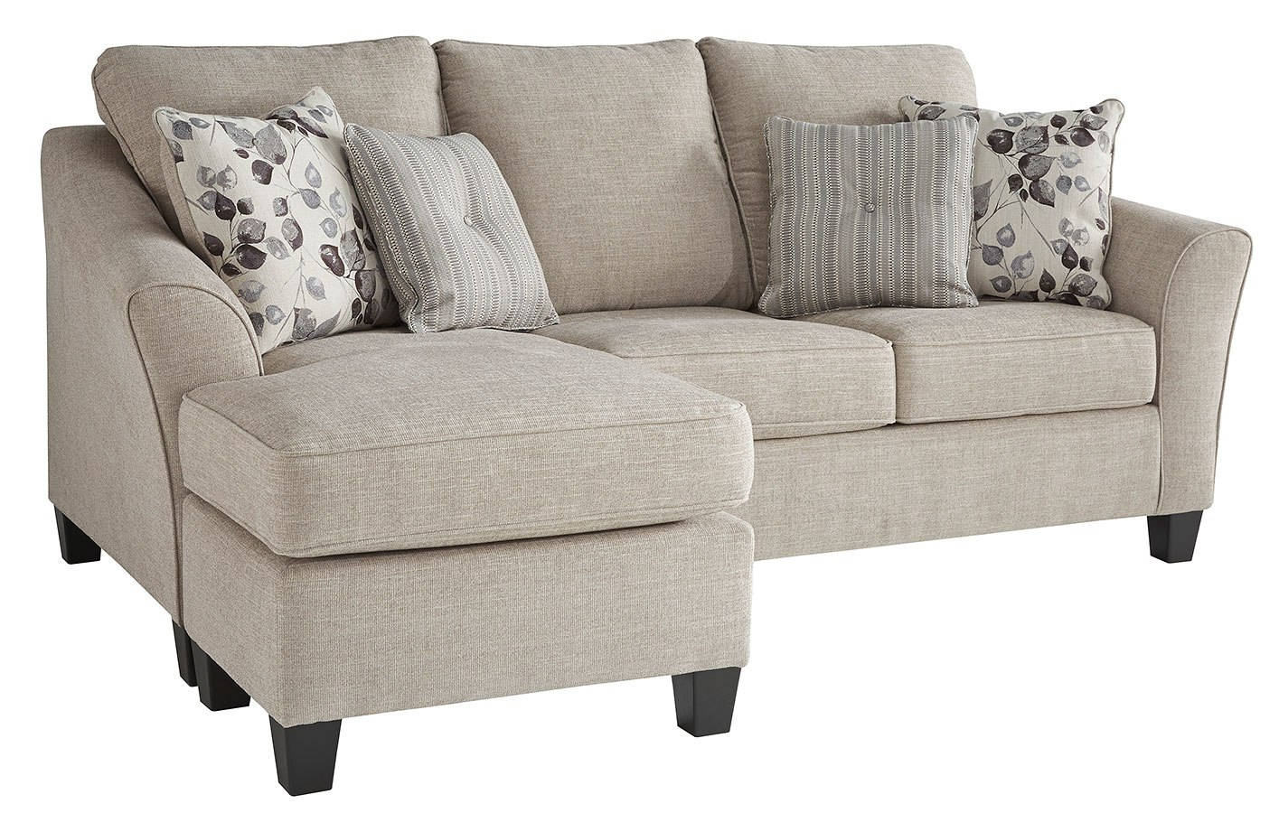 Abney Driftwood Sofa Chaise Queen Sleeper by Signature ...