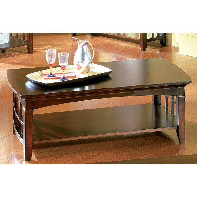 Glasgow Cocktail Table By Standard Furniture