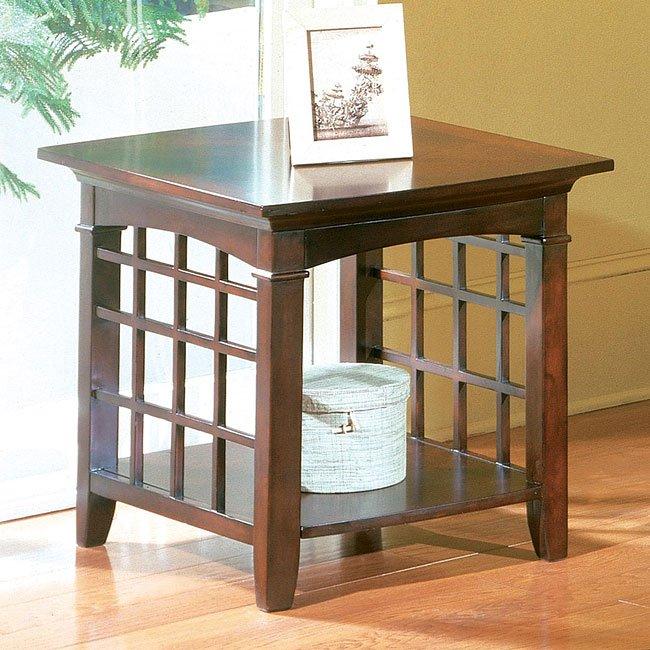 Glasgow End Table Standard Furniture