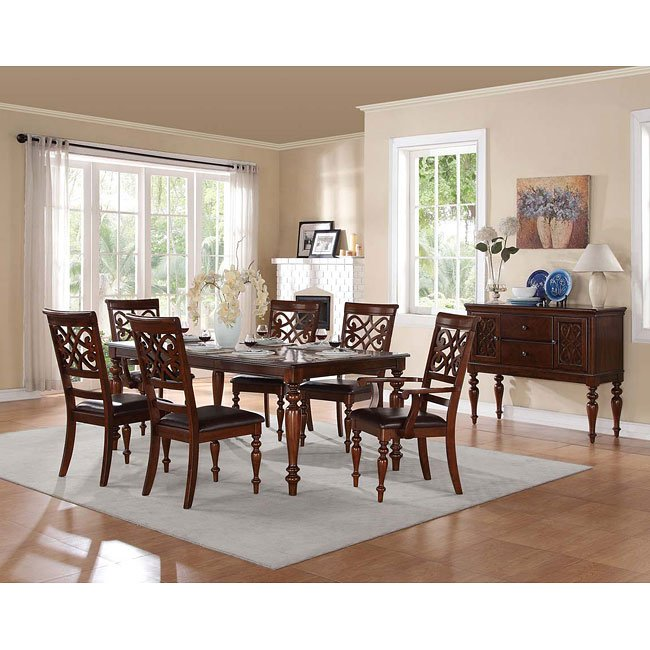 Creswell Dining Room Set By Homelegance