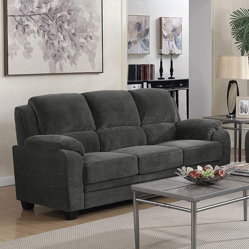 Northend Sofa Charcoal By Coaster Furniture Furniturepick
